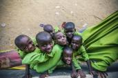 School kids in Suleja, Nigeria